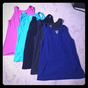 Women's Plus Size Rib Knit Tank Top-Lot of 5